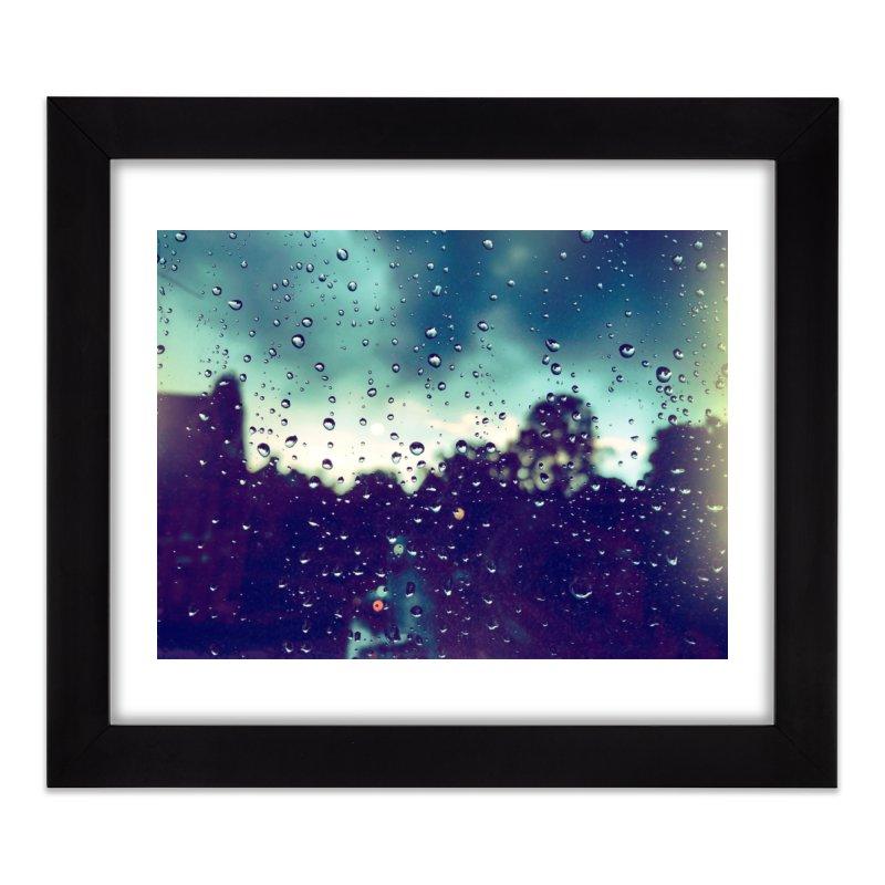 Droplets Home Framed Fine Art Print by NadineMorgan's Artist Shop
