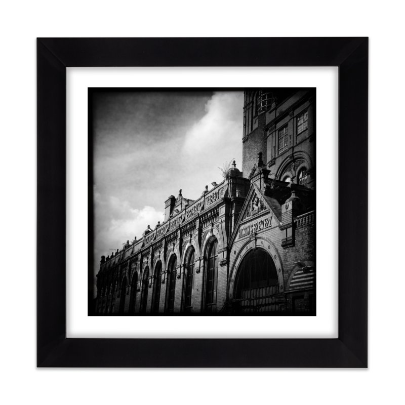 The Brewery Home Framed Fine Art Print by NadineMorgan's Artist Shop
