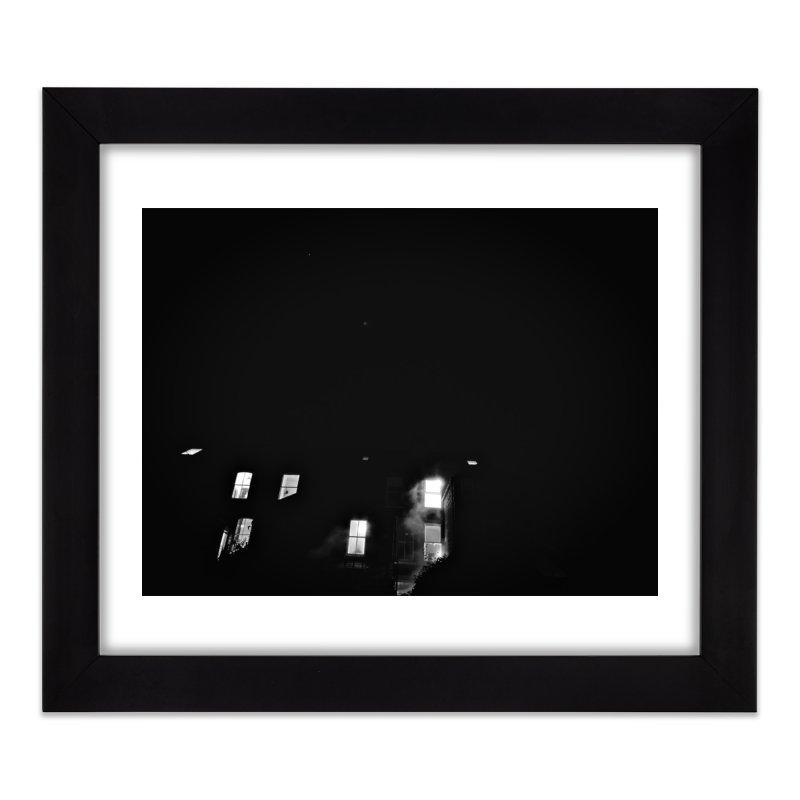 Go The Back Way Home Framed Fine Art Print by NadineMorgan's Artist Shop