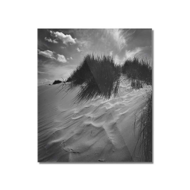 Dunes Home Mounted Acrylic Print by NadineMorgan's Artist Shop