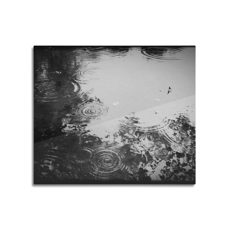 Rain Home Mounted Acrylic Print by NadineMorgan's Artist Shop