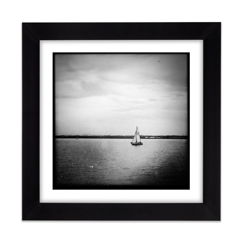 Sail Home Framed Fine Art Print by NadineMorgan's Artist Shop