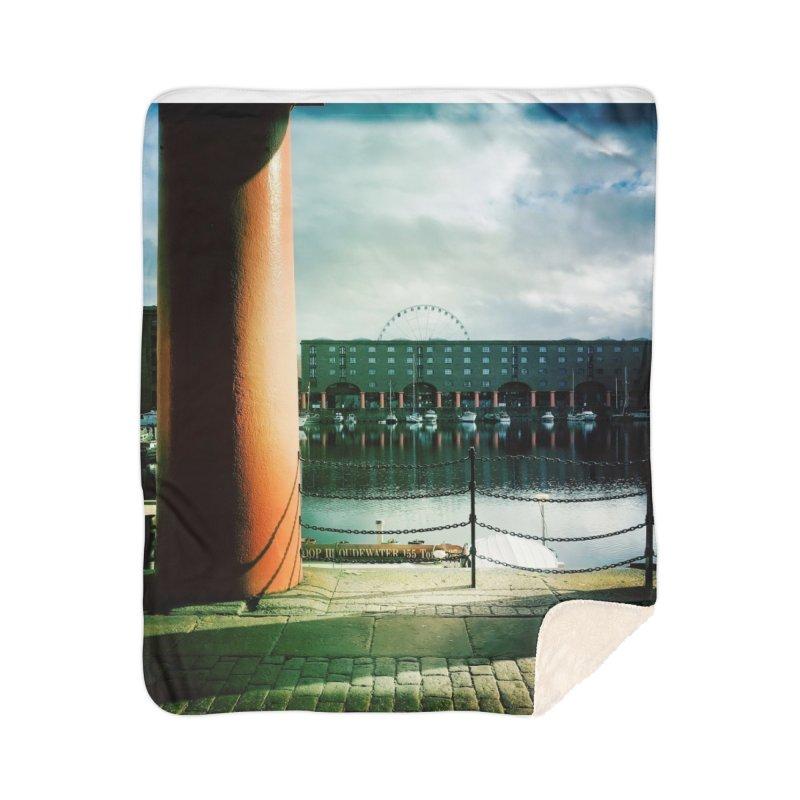 Albert Dock Home Blanket by NadineMorgan's Artist Shop