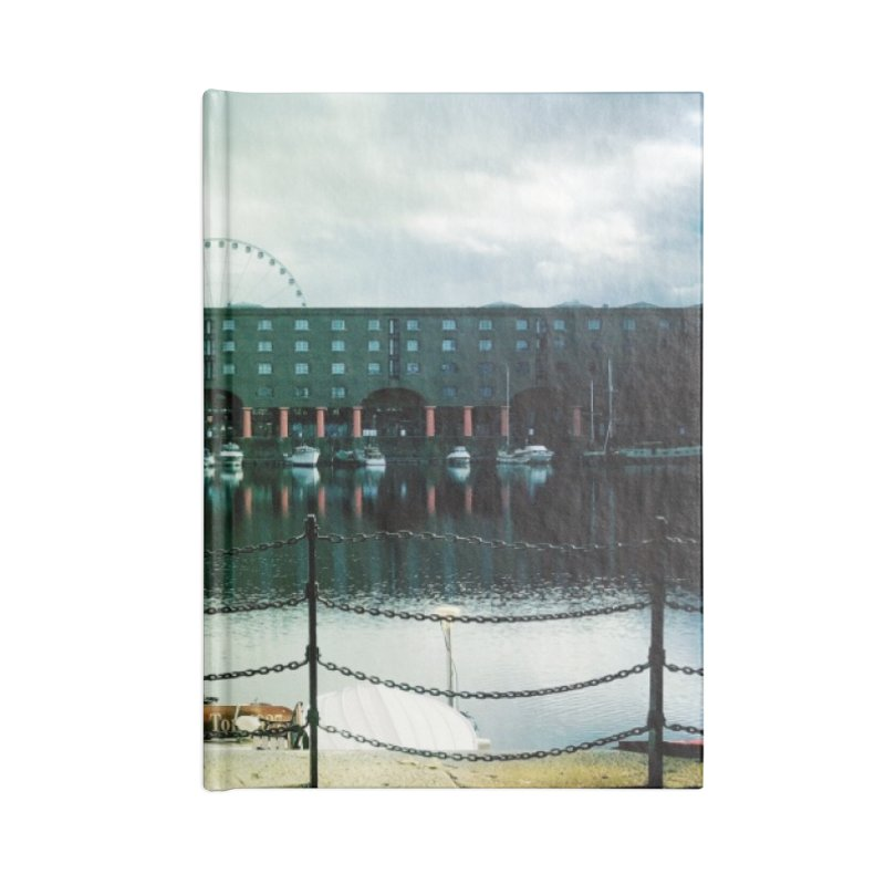 Albert Dock Accessories Notebook by NadineMorgan's Artist Shop