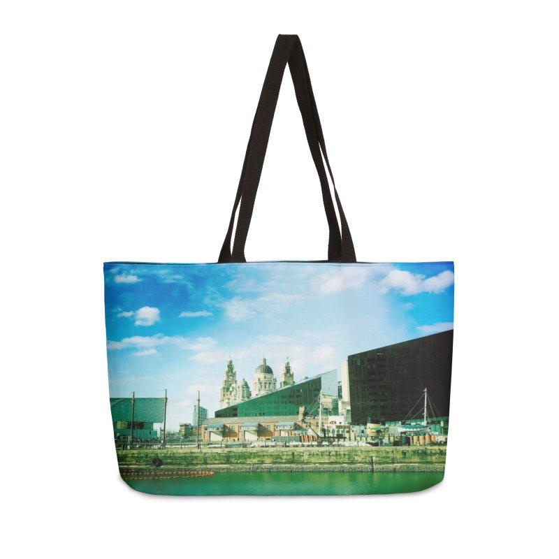 Pier Head, Liverpool Accessories Bag by NadineMorgan's Artist Shop