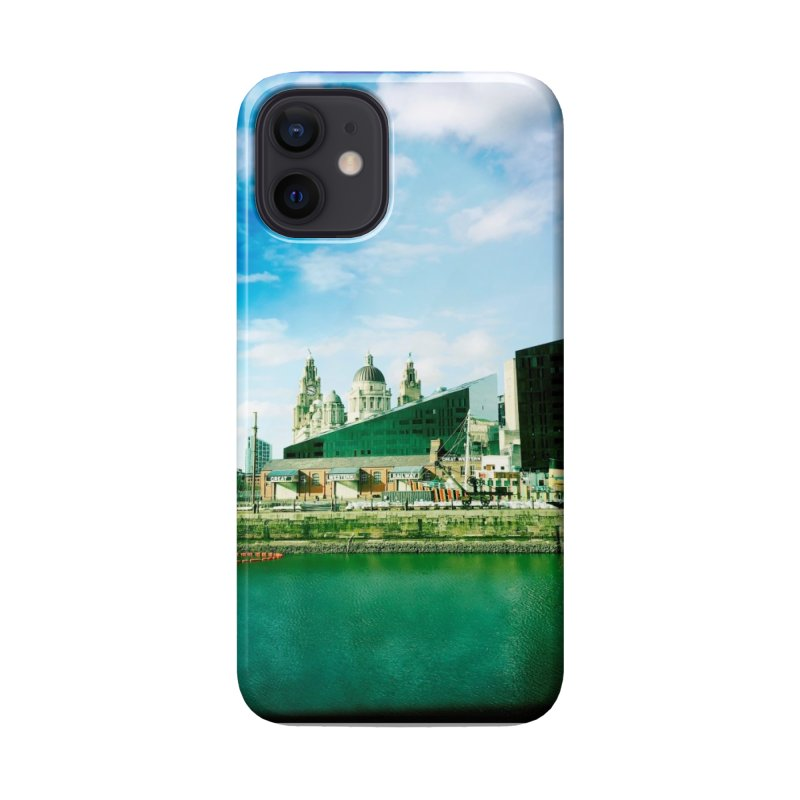 Pier Head, Liverpool Accessories Phone Case by NadineMorgan's Artist Shop