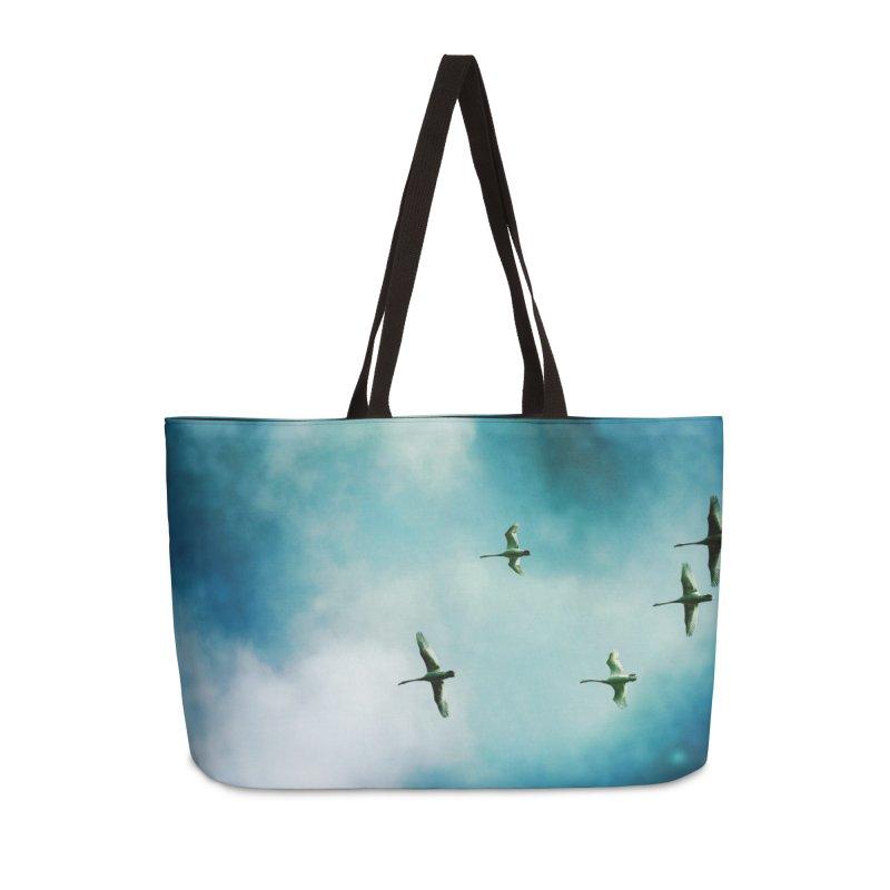 Birds In Flight Accessories Bag by NadineMorgan's Artist Shop
