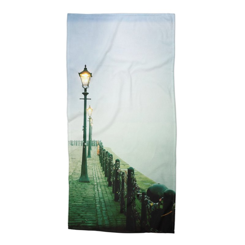Light In The Fog Accessories Beach Towel by NadineMorgan's Artist Shop