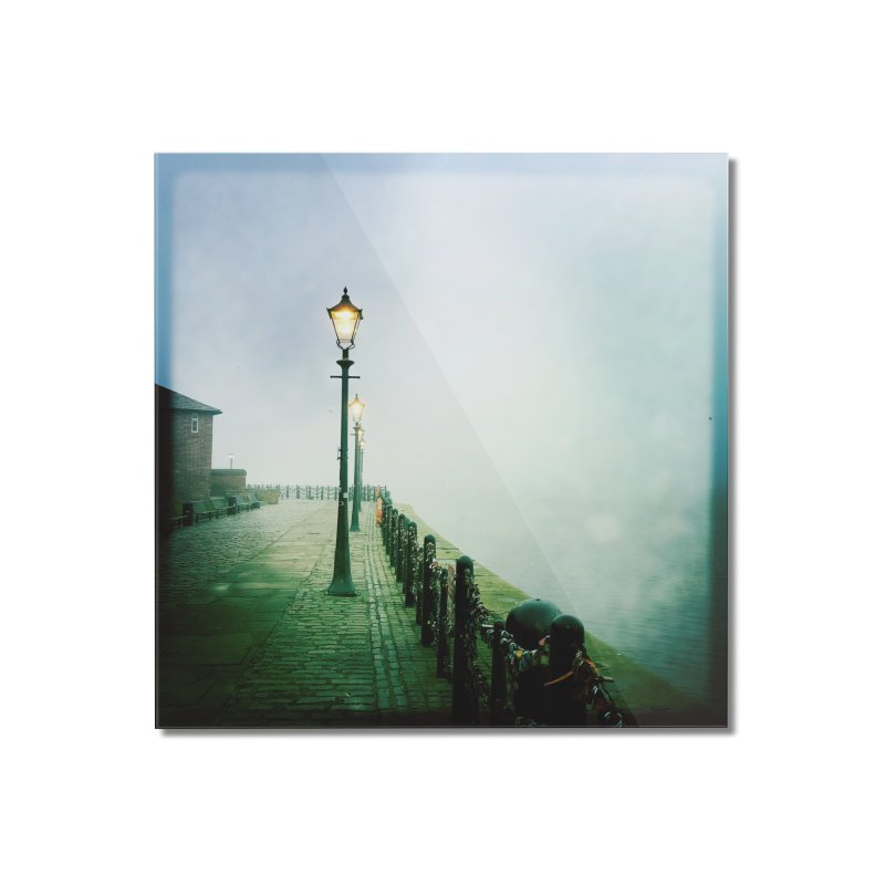 Light In The Fog Home Mounted Acrylic Print by NadineMorgan's Artist Shop