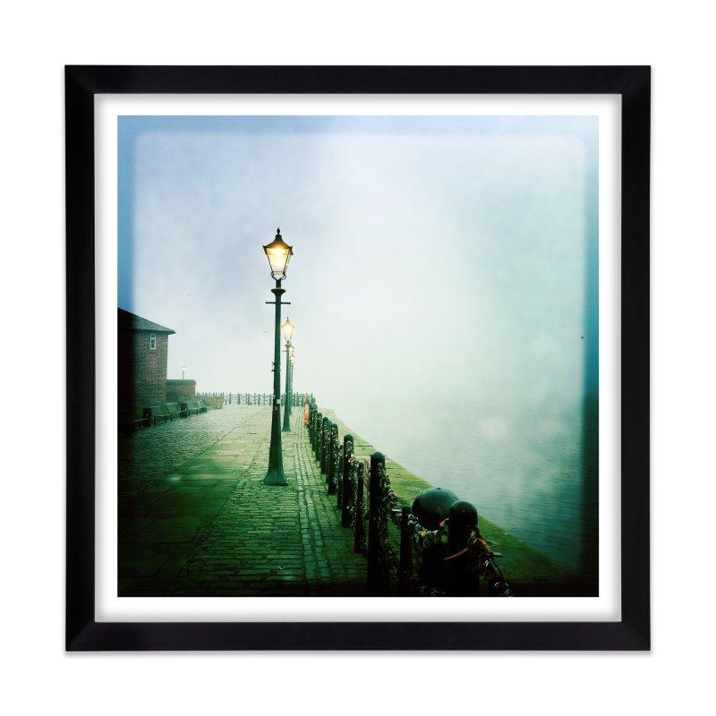 Light In The Fog Home Framed Fine Art Print by NadineMorgan's Artist Shop
