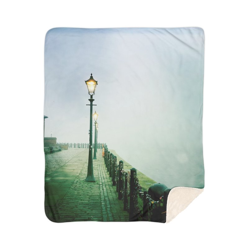 Light In The Fog Home Blanket by NadineMorgan's Artist Shop