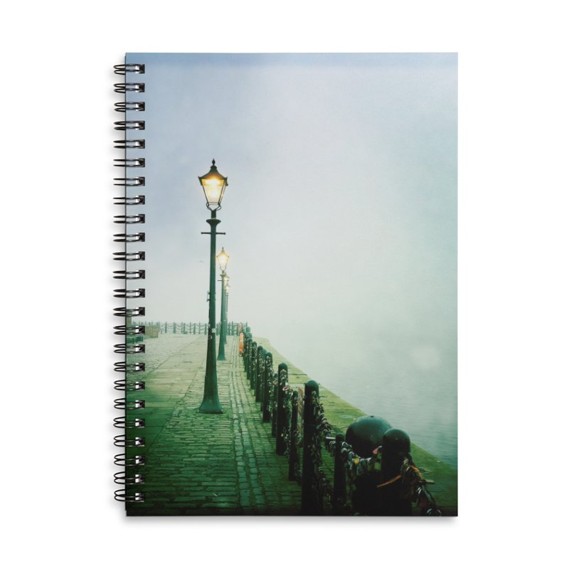 Light In The Fog Accessories Notebook by NadineMorgan's Artist Shop