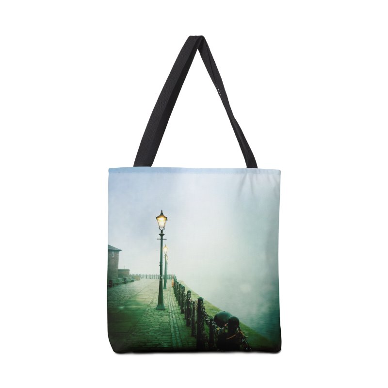 Light In The Fog Accessories Bag by NadineMorgan's Artist Shop