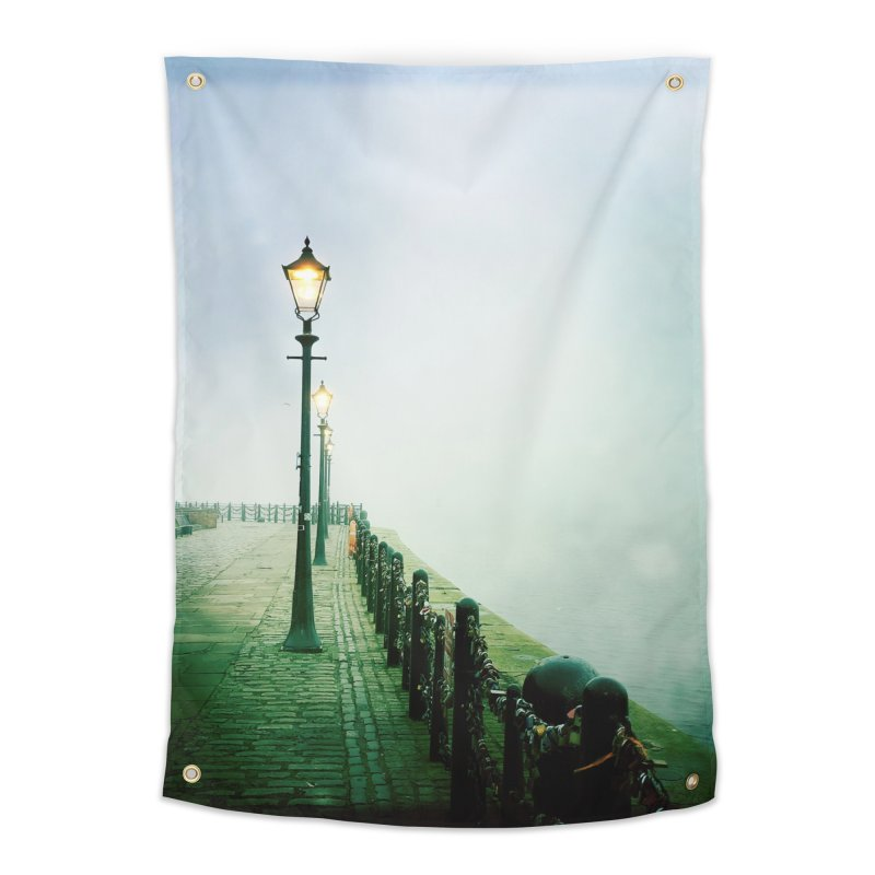 Light In The Fog Home Tapestry by NadineMorgan's Artist Shop