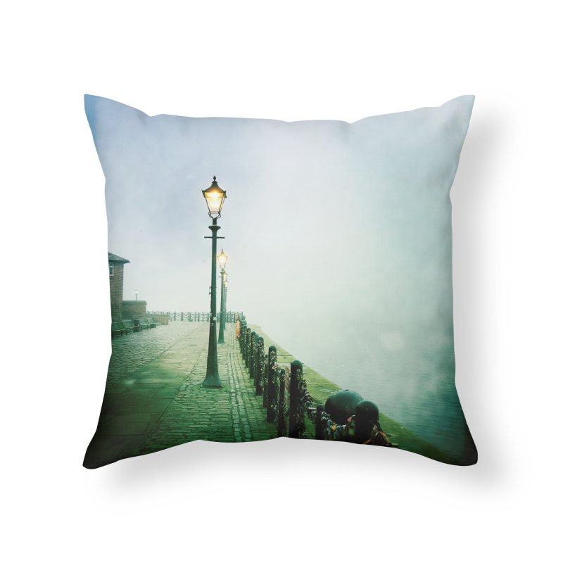 Light In The Fog Home Throw Pillow by NadineMorgan's Artist Shop