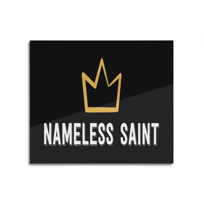 Crown Home Mounted Acrylic Print by Nameless Saint
