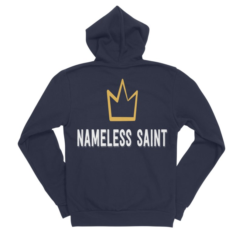 Crown Men's Sponge Fleece Zip-Up Hoody by Nameless Saint