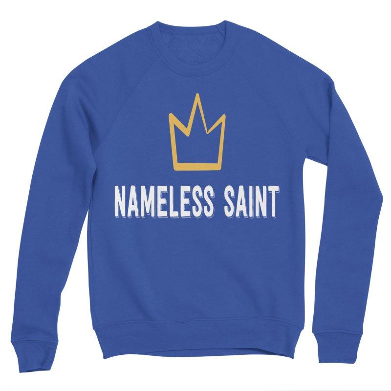 Crown Men's Sponge Fleece Sweatshirt by Nameless Saint