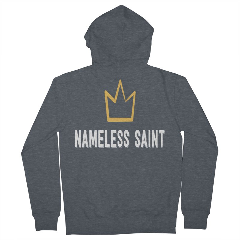 Crown Women's French Terry Zip-Up Hoody by Nameless Saint