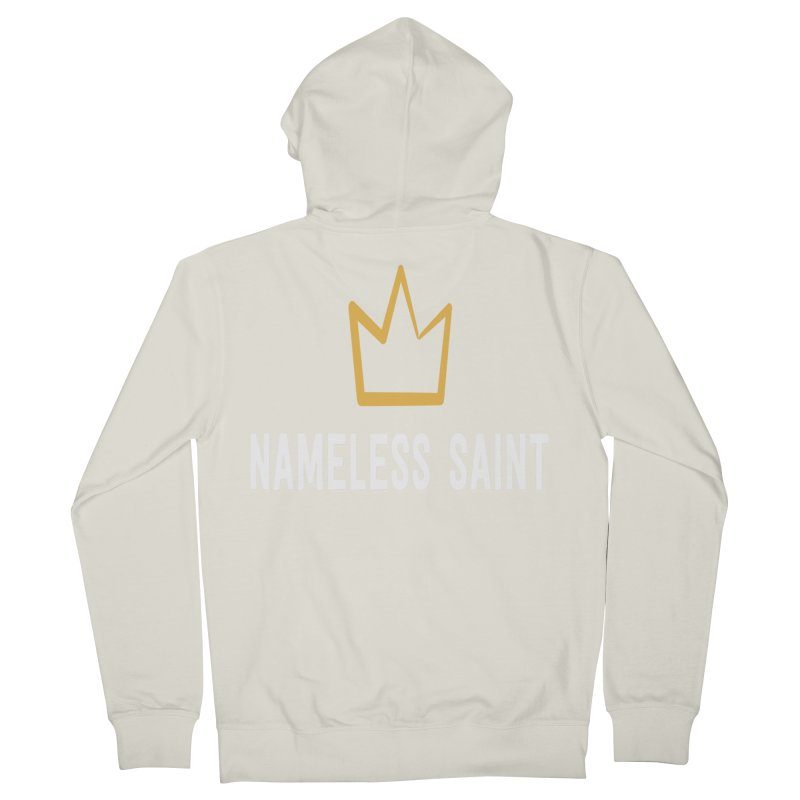 Crown Men's French Terry Zip-Up Hoody by Nameless Saint