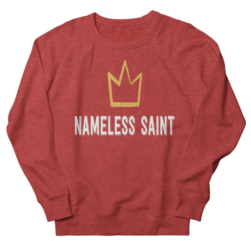Crown Men's French Terry Sweatshirt by Nameless Saint