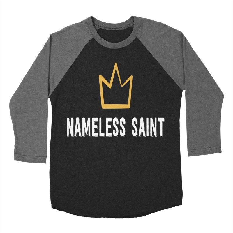 Crown Men's Baseball Triblend Longsleeve T-Shirt by Nameless Saint