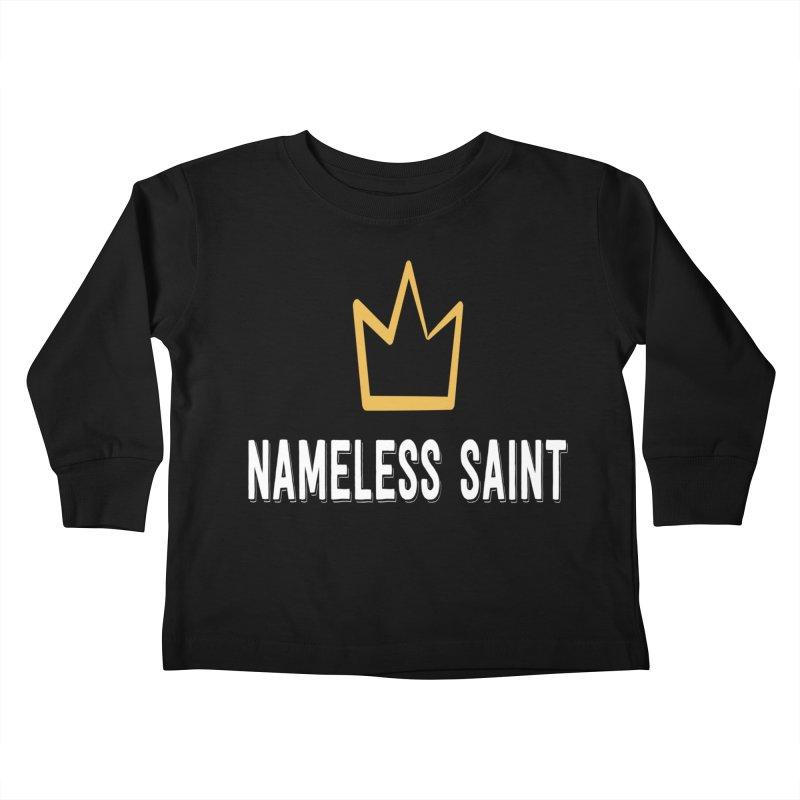 Crown Kids Toddler Longsleeve T-Shirt by Nameless Saint