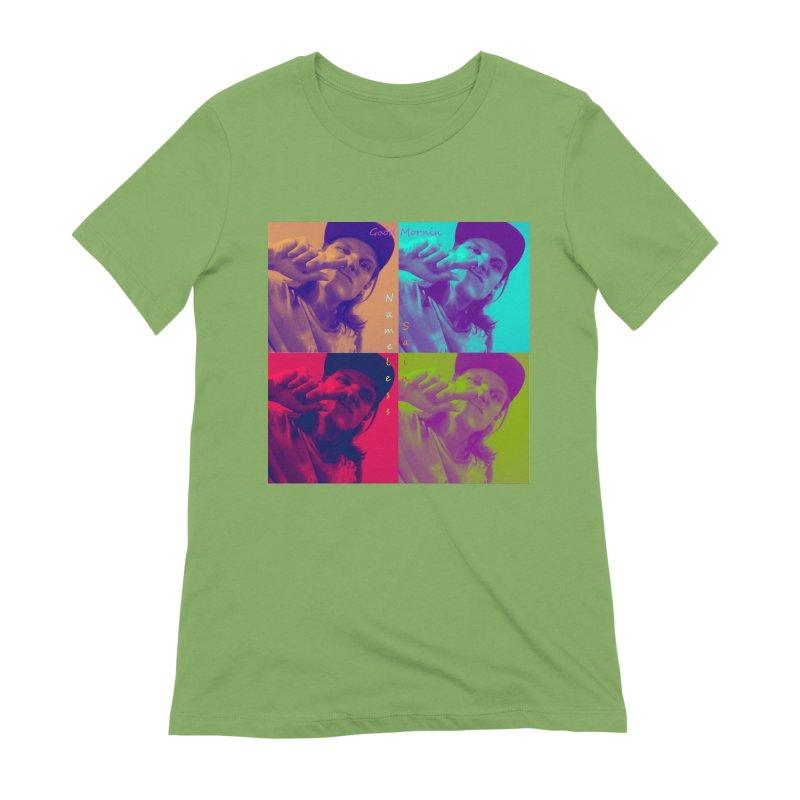 Good Mornin Women's Extra Soft T-Shirt by Nameless Saint