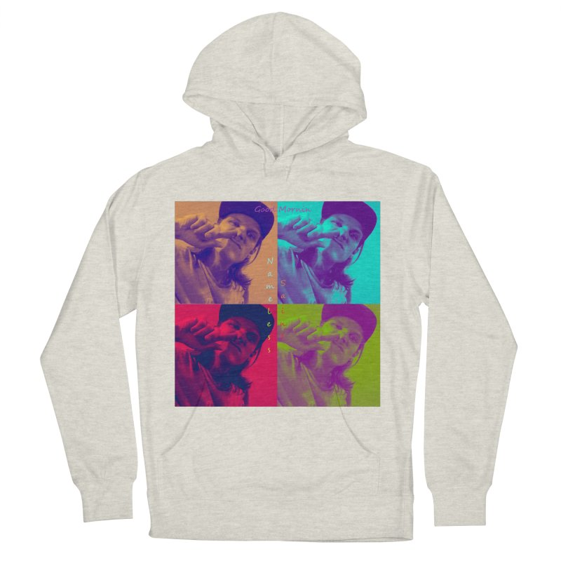 Good Mornin Men's French Terry Pullover Hoody by Nameless Saint