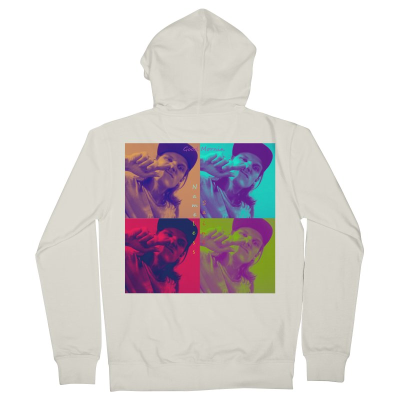 Good Mornin Women's French Terry Zip-Up Hoody by Nameless Saint
