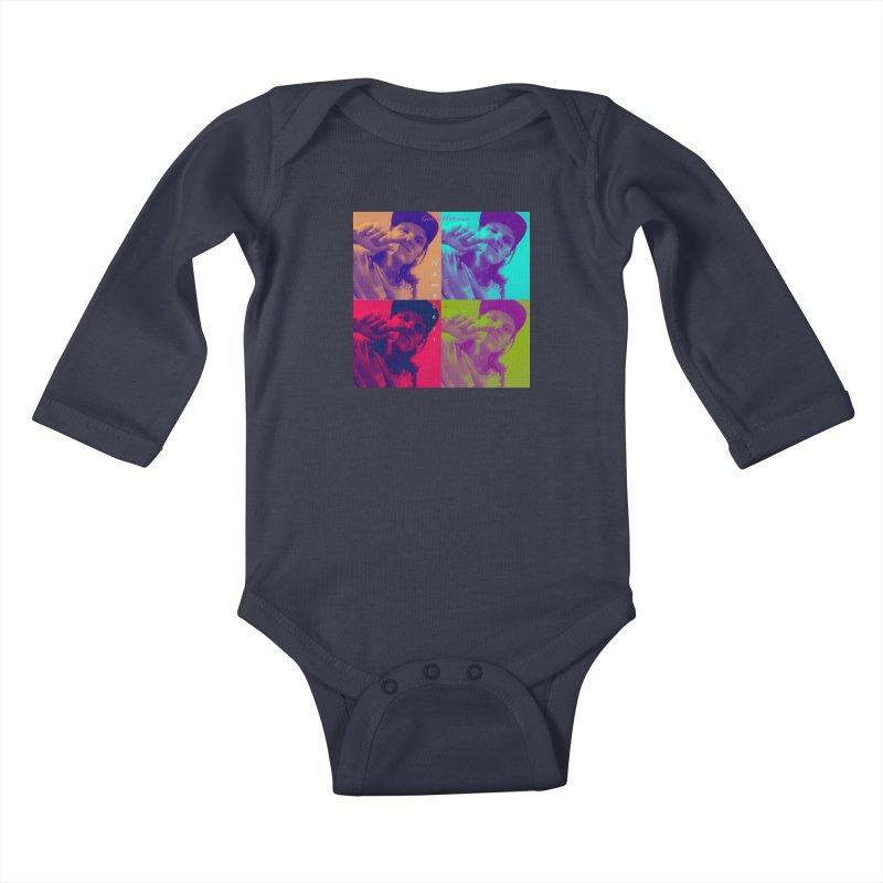 Good Mornin Kids Baby Longsleeve Bodysuit by Nameless Saint