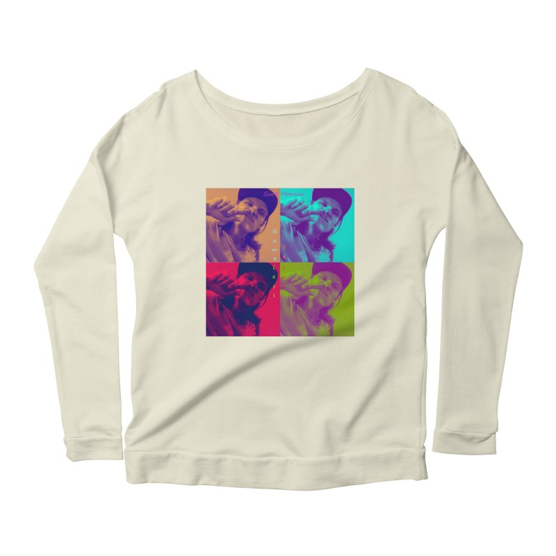 Good Mornin Women's Scoop Neck Longsleeve T-Shirt by Nameless Saint