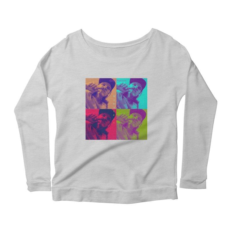 Good Mornin Women's Scoop Neck Longsleeve T-Shirt by Nameless Saint