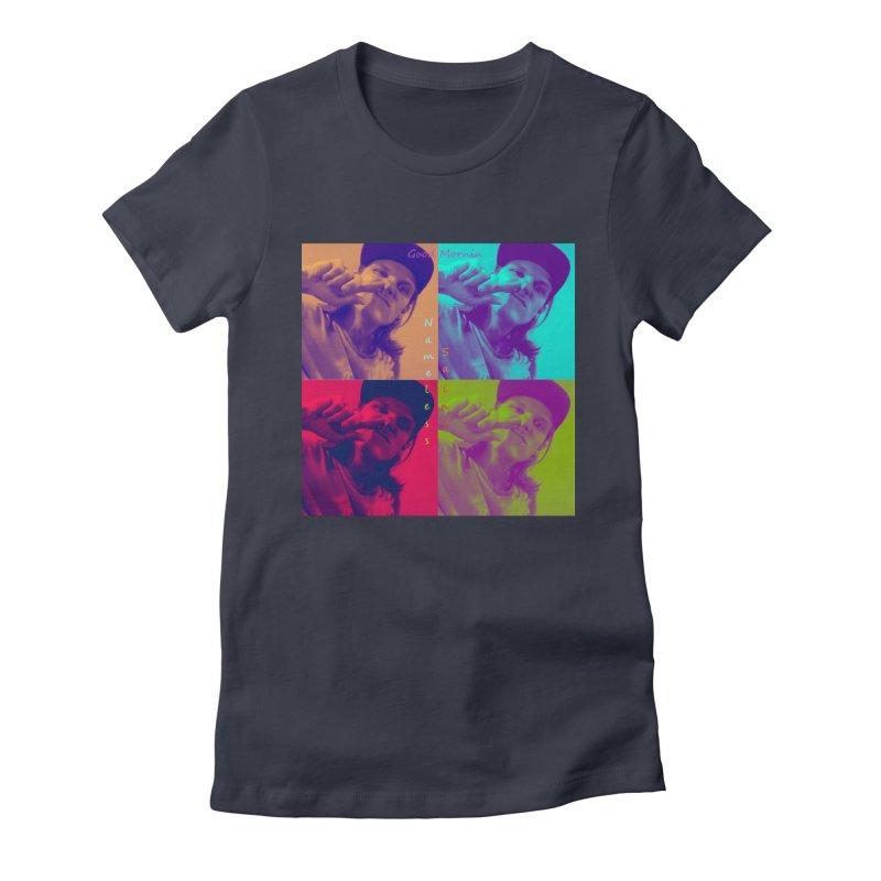 Good Mornin Women's Fitted T-Shirt by Nameless Saint