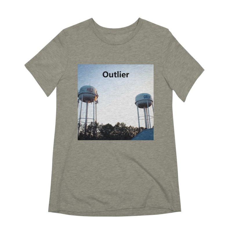 Outlier Women's Extra Soft T-Shirt by Nameless Saint