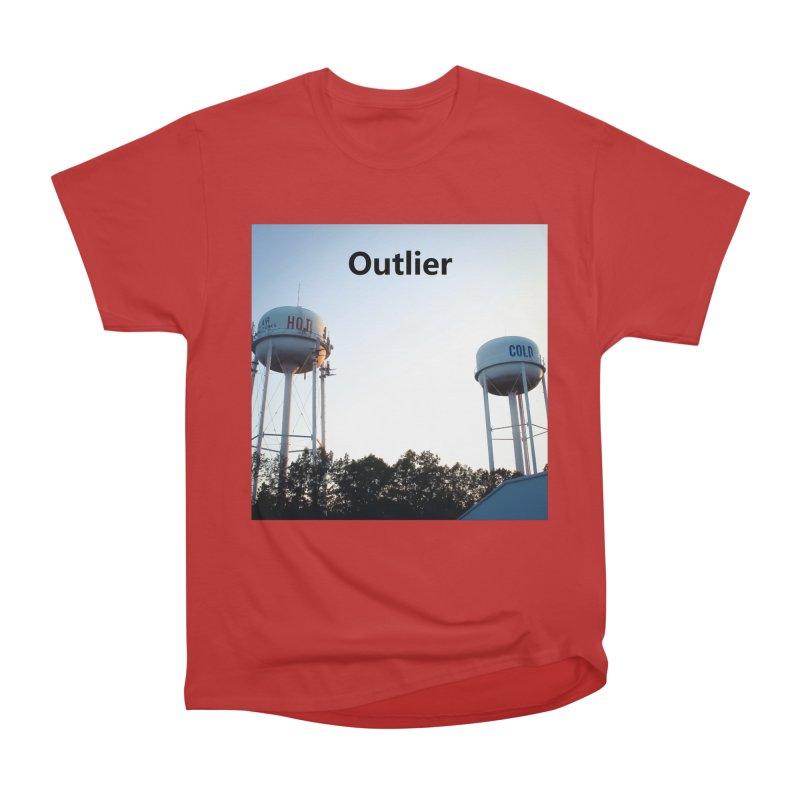 Outlier Women's Heavyweight Unisex T-Shirt by Nameless Saint