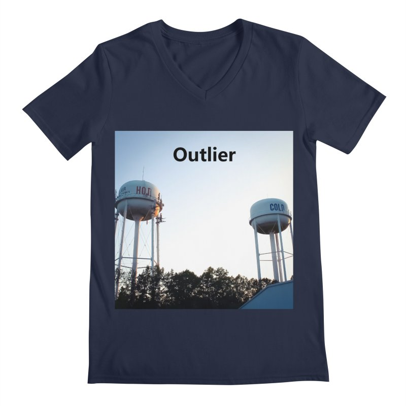 Outlier Men's Regular V-Neck by Nameless Saint