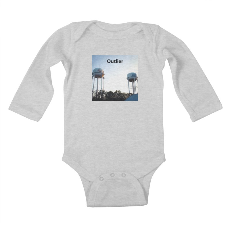 Outlier Kids Baby Longsleeve Bodysuit by Nameless Saint
