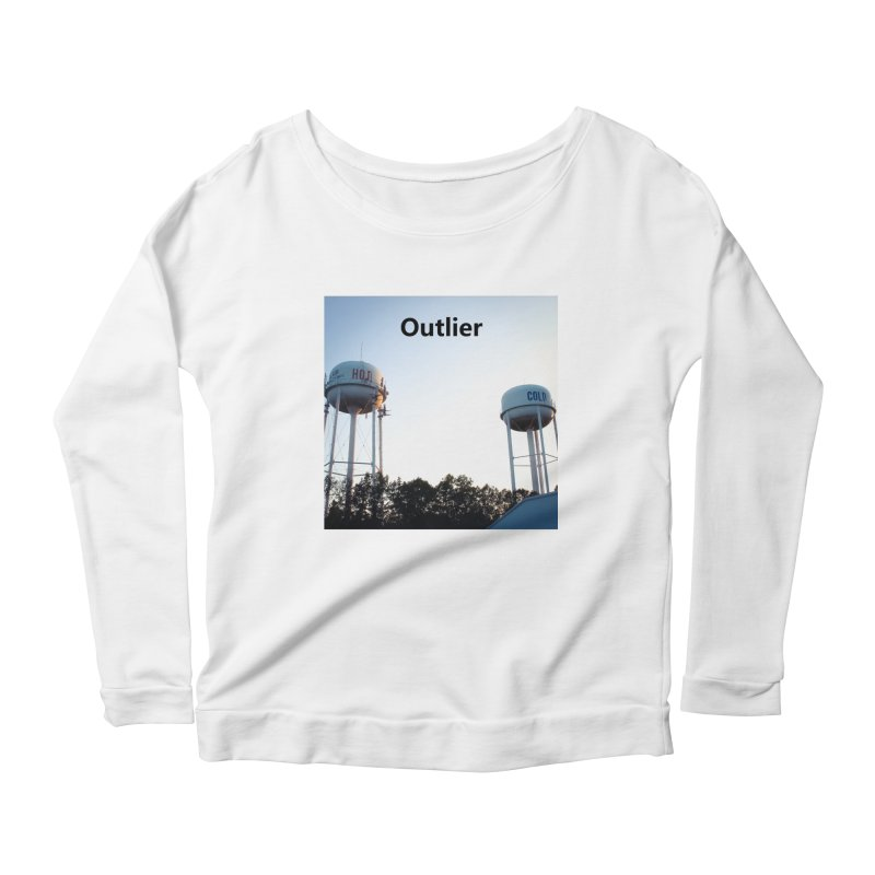 Outlier Women's Scoop Neck Longsleeve T-Shirt by Nameless Saint