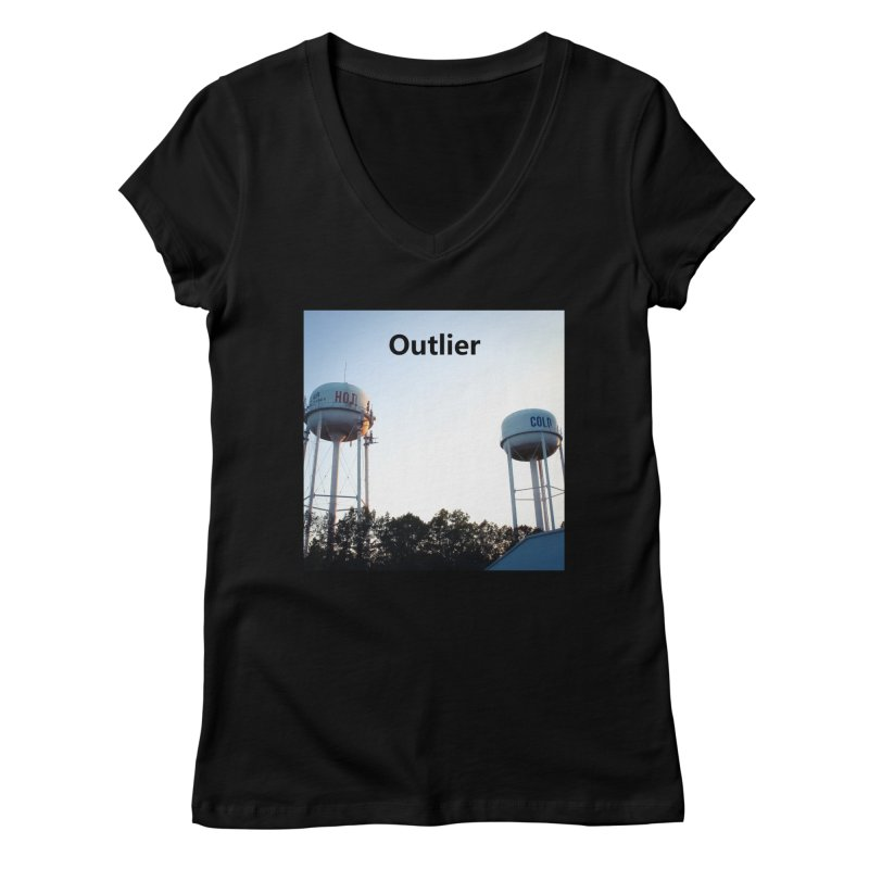 Outlier Women's Regular V-Neck by Nameless Saint