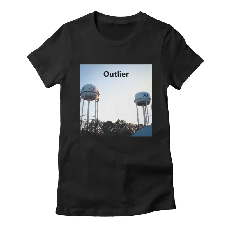 Outlier Women's Fitted T-Shirt by Nameless Saint