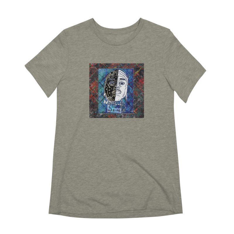Half and Half Women's Extra Soft T-Shirt by Nameless Saint