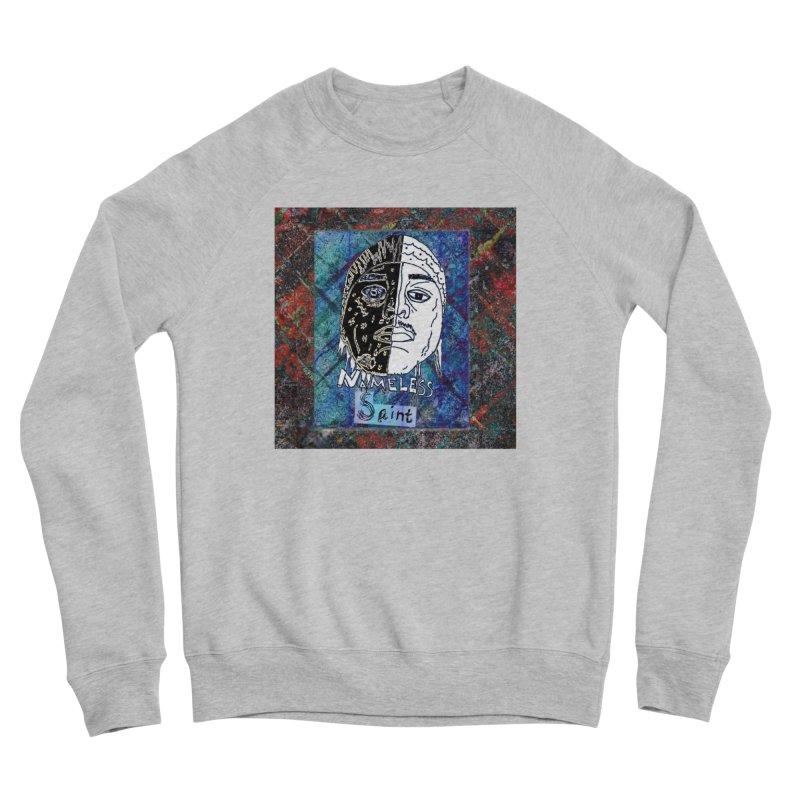 Half and Half Men's Sponge Fleece Sweatshirt by Nameless Saint