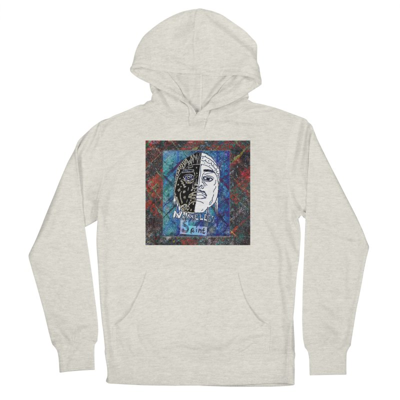 Half and Half Women's French Terry Pullover Hoody by Nameless Saint