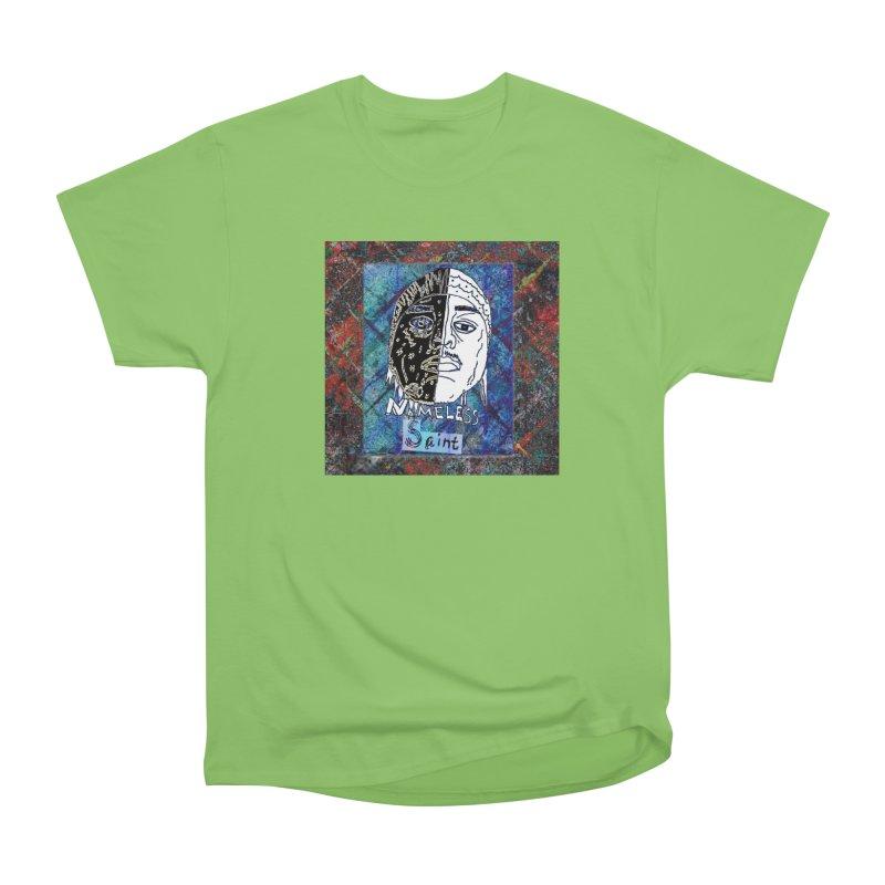 Half and Half Men's Heavyweight T-Shirt by Nameless Saint