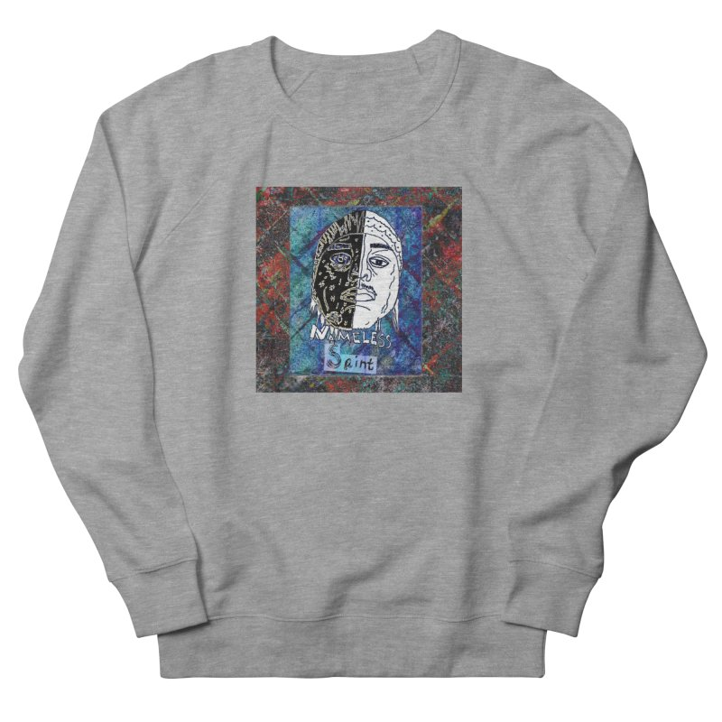 Half and Half Women's French Terry Sweatshirt by Nameless Saint