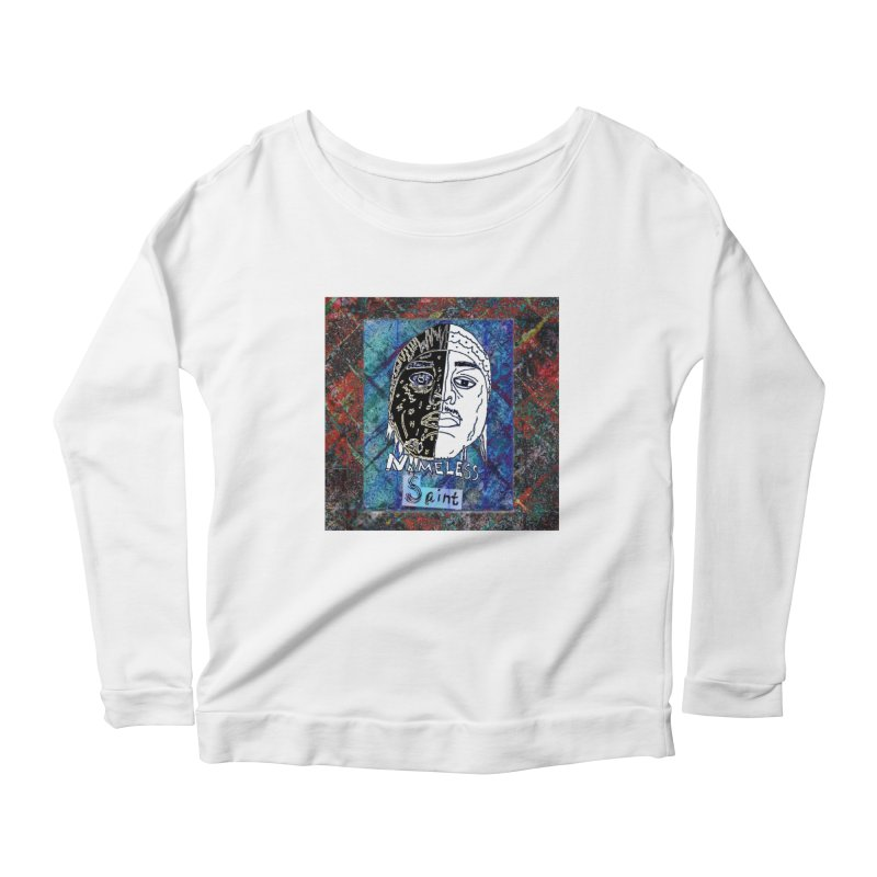 Half and Half Women's Scoop Neck Longsleeve T-Shirt by Nameless Saint