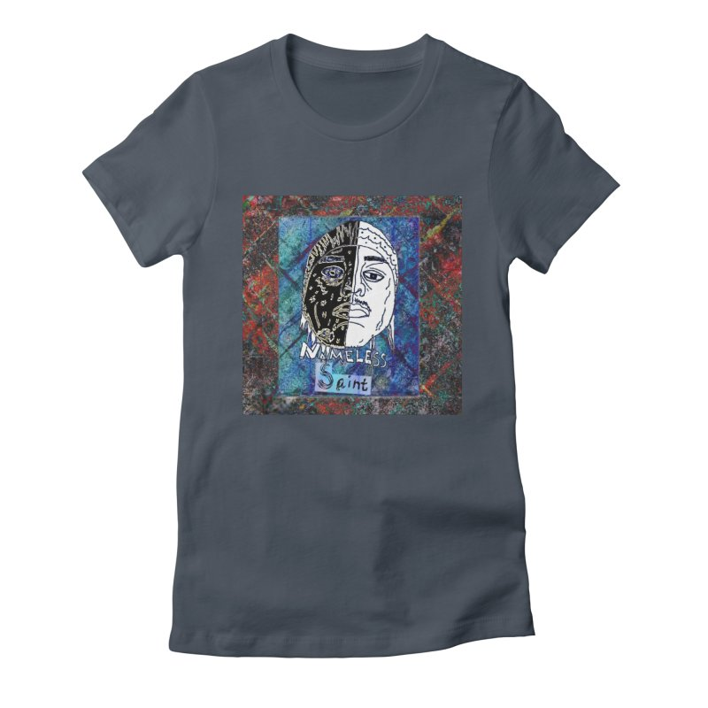 Half and Half Women's Fitted T-Shirt by Nameless Saint
