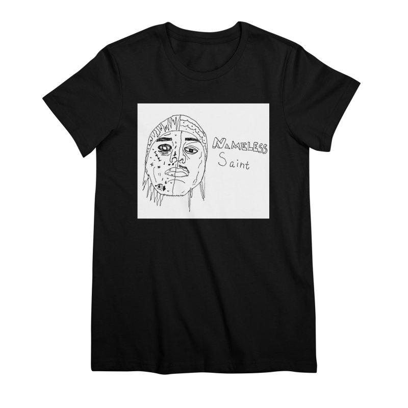 Good vs Evil Women's Premium T-Shirt by Nameless Saint
