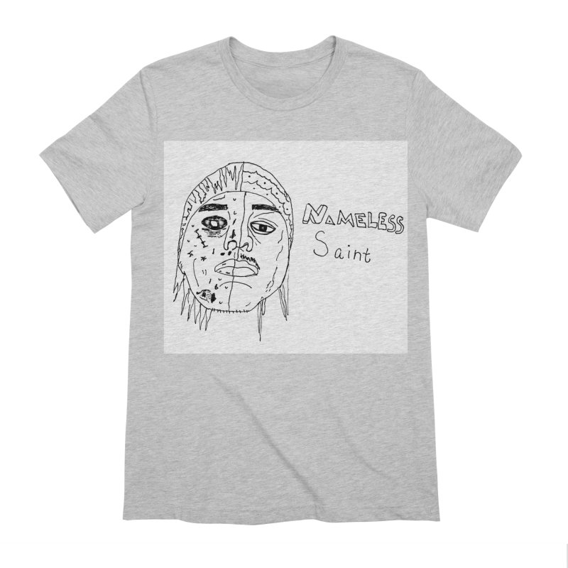 Good vs Evil Men's Extra Soft T-Shirt by Nameless Saint
